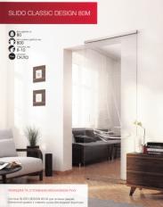 раздвижная система для стекла дизайн М